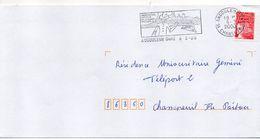 """Flamme Temporaire -2000--ANGOULEME -16 """" Capitale De La B.D  """" (Bande Dessinée )   -- Tp Type Marianne Luquet - Marcophilie (Lettres)"""