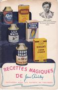 Dépliant 8 Pages - Vintage 1930s - Recettes Magiques De Jean Ashley Pub. Par Canada Starch Co. - Gastronomie