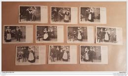 Lot De 10 Cartes Postales De BOTREL - FLEUR D'AJONC - Personnages