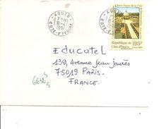 Cote D'Ivoire ( Lettre De 1991 De Kouto Vers La France à Voir) - Ivory Coast (1960-...)