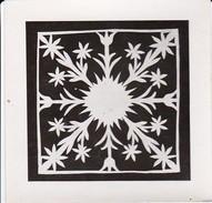 Foto Scherenschnitt - 9*9cm - Ca. 1950 (31267) - Scherenschnitte