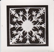 Foto Scherenschnitt - 9*9cm - Ca. 1950 (31267) - Chinese Papier