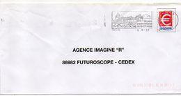 """Flamme-1999 --GIEN--45 """" Musée International De La Chasse """" ( Chateau,pont ) - Tp Type  € - Marcophilie (Lettres)"""