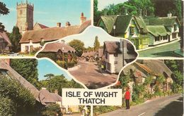 CPA-1950-GB-ILE WIGHT-THACH-MULTIVUES-TBE - Angleterre