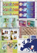 Hercegovina/Makedonia/Latvia/Serbia/Montenegro/Croatia 7 Blocks A/B ** 338€ Hb M/s Blocs S/s Sheets Bf Topics CEPT - Stamps