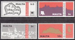MALTA       SCOTT NO. 497-500        MNH       YEAR  1975 - Malta