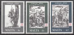 MALTA       SCOTT NO. 544-46        MNH     YEAR  1978 - Malta