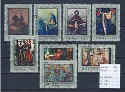 Schilderijen - Polen 1968 YT 1714/21 Gest./obl./used - Otros
