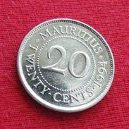 Mauritius 20 Cents 1994 KM# 53 Mauricia Maurice - Mauritius