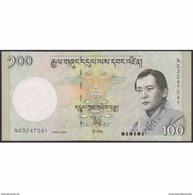 TWN - BHUTAN 32a - 100 Ngultrum 2006 Prefix N UNC - Bhutan