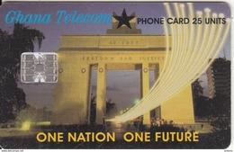 GHANA - One Nation One Futrure, 12/00, Used - Ghana