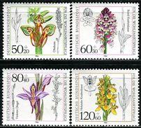 BRD - Mi 1225 / 1228 - ** Postfrisch (G) - Orchideen, Wohlfahrt 84 - Unused Stamps