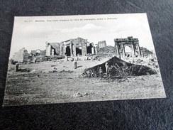 CPA Animée - SBEITLA - Les Trois Temples Et L'arc De Triomphe Dédié à Antonin - Tunesien