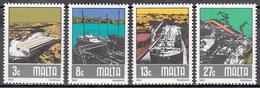 MALTA       SCOTT NO. 608-11        MNH     YEAR  1982 - Malta