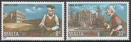 MALTA       SCOTT NO. 612-13        MNH     YEAR  1982 - Malta