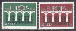 MALTA       SCOTT NO. 641-42        MNH     YEAR  1984 - Malta