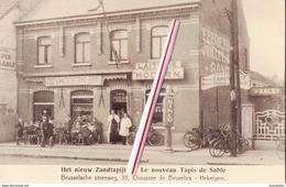 Het Nieuw Zandtapijt - Le Nouveau Tapis De Sable - Brusselsche Steenweg,33, Chaussée De Bruxelles - HEKELGEM - Affligem