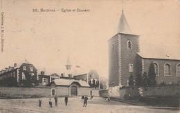Burdinne Eglise Et Couvent Animée Circulé En 1911 - Burdinne