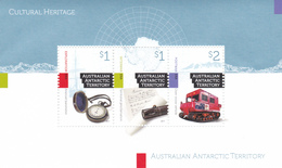 Australian Antarctic Territory 2017 Cultural Heritage Miniature Sheet MNH - Unused Stamps
