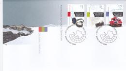 Australian Antarctic Territory 2017 Cultural Heritage  FDC - Unused Stamps