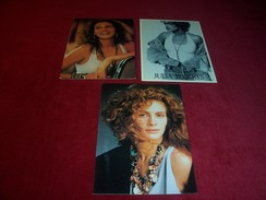 3 CARTES DE JULIA ROBERTS - Entertainers