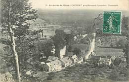 """CPA FRANCE 14 """"Caumont Près Harcourt"""" / VIGNETTE AVIATION - Autres Communes"""