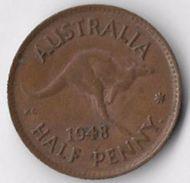 Australia 1948 ½d [C688/2D] - Sterling Coinage (1910-1965)