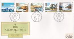 Great Britain FDC 1981 The National Trusts  (DD9-1) - 1981-1990 Dezimalausgaben