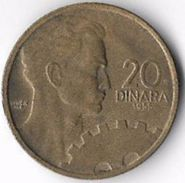 Yugoslavia 1955 20 Dinars [C694/2D] - Yugoslavia
