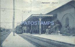 80703 ITALY PIETRASANTA TOSCANA STATION TRAIN POSTAL POSTCARD - Unclassified