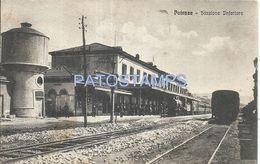 80701 ITALY POTENZA STATION TRAIN  POSTAL POSTCARD - Unclassified