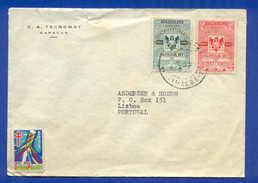 COVER & STAMPS & VIGNETA CINDERELLA VENEZUELA YEAR 1955 ZX - Stamps