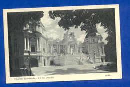 POSTCARD BRASIL RIO DE JANEIRO GUANABARA PALACE 1940s - Unclassified