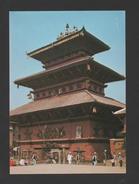 NEPAL Postcard 1960years BHAIRABNATH TEMPLE BHAKTAPUR  ZX - Postcards