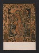 1960 Years ART POSTCARD OUR LADY & JESUS CHRIST - RELIGION CATHOLIC Z1 - Religions & Beliefs