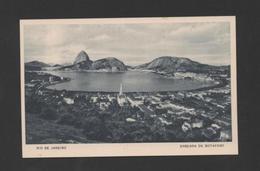 BRAZIL RIO DE JANEIRO BOTAFOGO 1940s POSTCARD ADVERT CASINO COPACABANA BRAZIL Xx - Postcards