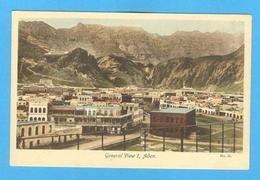 1920 YEARS POSTCARD ASIA ASIE YEMEN ADEN GENERAL VIEW - Postcards