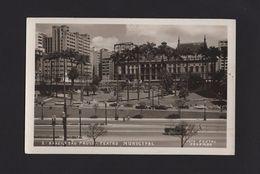 Postcard Stamps  Year 1954 BRASIL BRAZIL SÃO PAULO TEATRO THEATRE BRÉSIL Z1 - Postcards