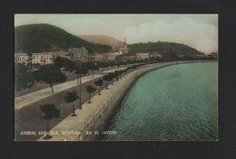 1910years Postcard RIO DE JANEIRO BOTAFOGO AV. BEIRA-MAR BRASIL BRAZIL Z1 BRESIL - Unclassified