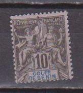 BENIN            N°  YVERT  :   24      NEUF AVEC  CHARNIERES      ( 1559 ) - Bénin (1892-1894)