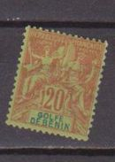 BENIN            N°  YVERT  :   26      NEUF AVEC  CHARNIERES      ( 1561  ) - Bénin (1892-1894)