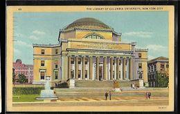 The Library Of Columbia Univerdity , New York City - New York City