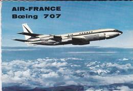AIR-FRANCE---BOEING 707--intercontinental--voir 2 Scans - 1946-....: Moderne