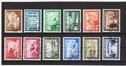 EBA591 DEUTSCHES REICH 1938  MICHL  702/13  SCHÖNER GESTEMPELTER SATZ Siehe ABBILDUNG - Deutschland