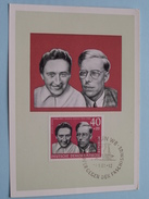 Hans Und Hilde COPPI - 1961 ( Zie Foto ) ! - Cartes-Maximum (CM)