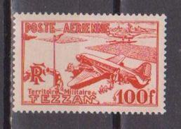 FEZZAN           N°  YVERT  :  PA 4   NEUF AVEC  CHARNIERES      ( 1624  ) - Fezzan (1943-1951)