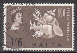 MALTA       SCOTT NO. 291     USED    YEAR  1963 - Malta (...-1964)