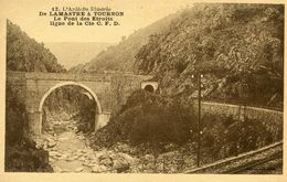 SAINT BARTHELEMY LE PLAIN - De Lamastre à Tournon Le Pont Des Etroits Ligne De La Compagnie CFD C. F. D. - Other Municipalities