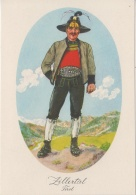 AK - Alexander Blaschkae Karte -  Zillertal- Tirol -Männer Tracht - 1930 - Trachten