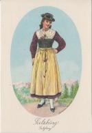 AK - Alexander Blaschkae Karte -  Salzburg Tracht - 1930 - Trachten